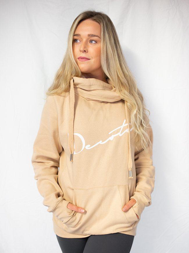 nude hoodie